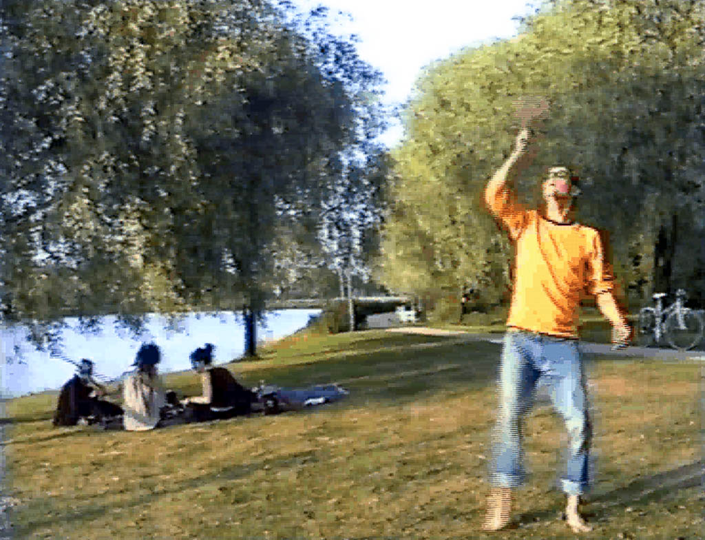 I'd rather be fishing than going to an art show, 1999, Konstakuten, Stockholm (S)