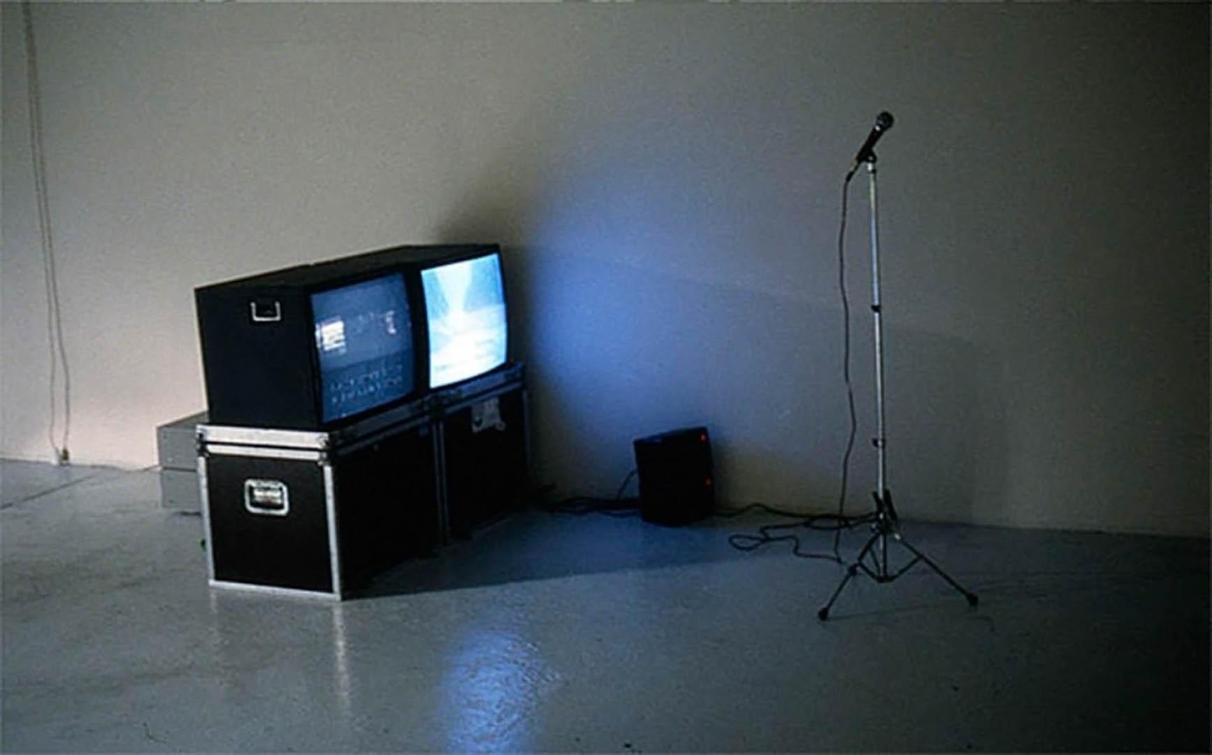 Karaoke Beuys 1998, Für die bessere Welt, Lothringer 13 Halle, München (D)