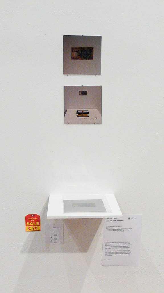 László Zsuzsa & Dora Hegyi, Curators for sale, 2008, Künstlerhaus Wien, Vienna (AUT)