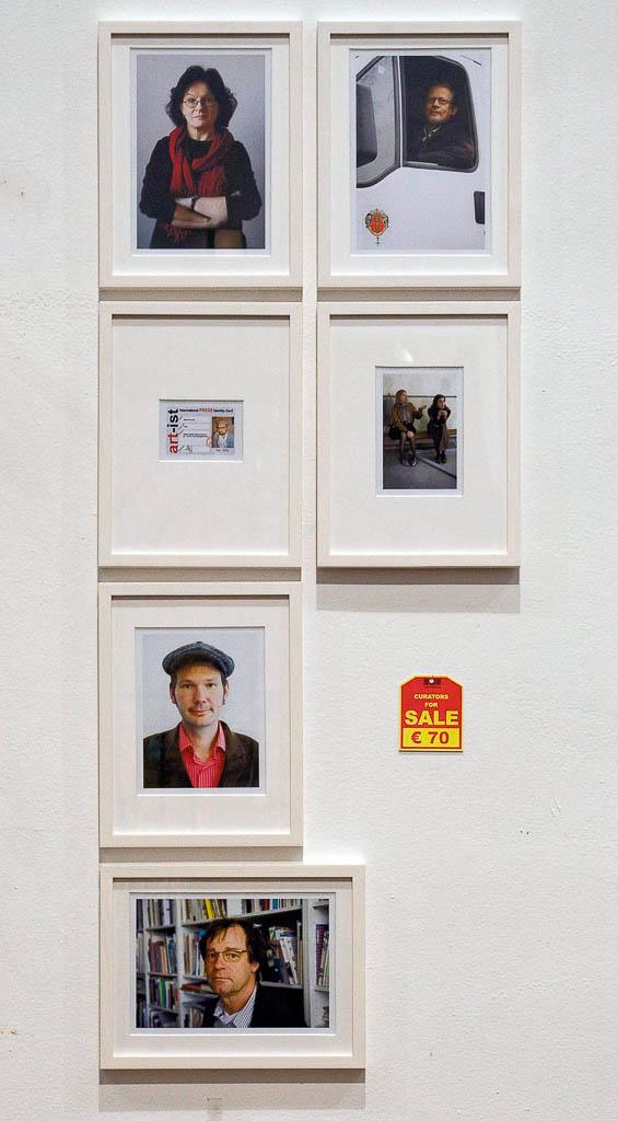 Curators for sale, 2008, Künstlerhaus Wien, Vienna (AUT)