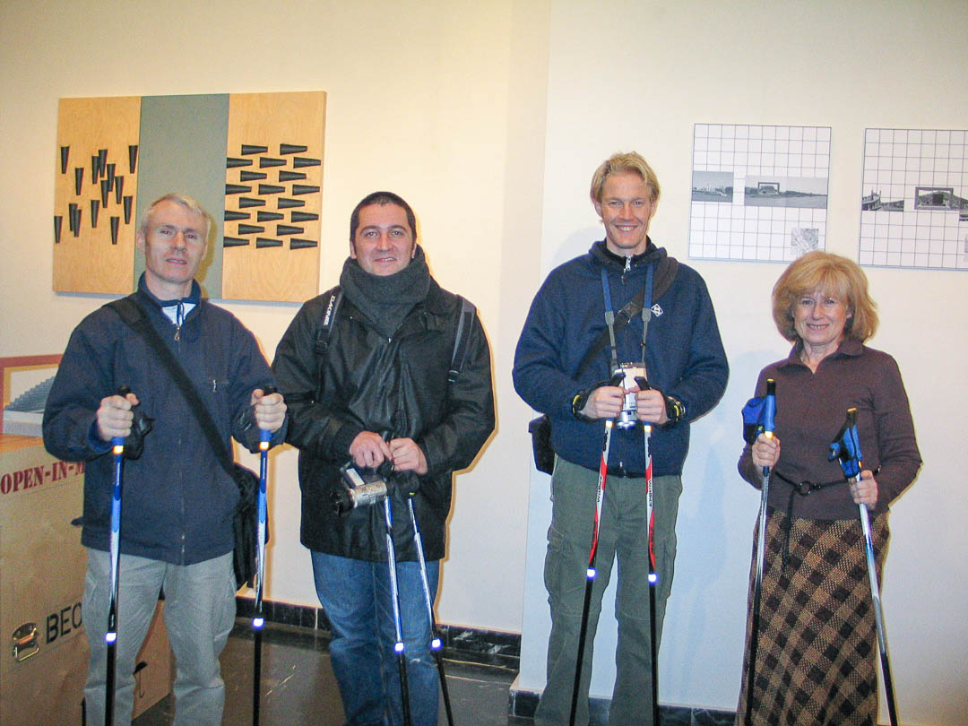 Nordic Walking, 2003, Gallery Walk, Budapest (HU)