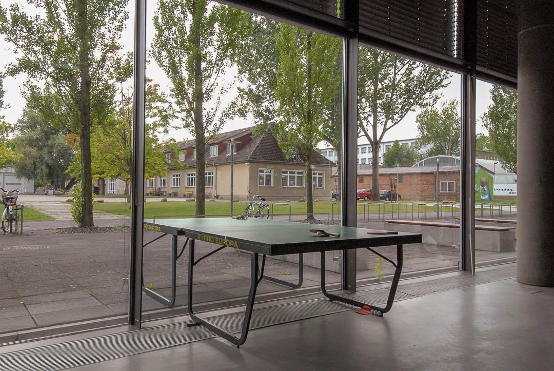 Ping-Pong – East meet West, how do we communicate, 2012, Wismar (D)