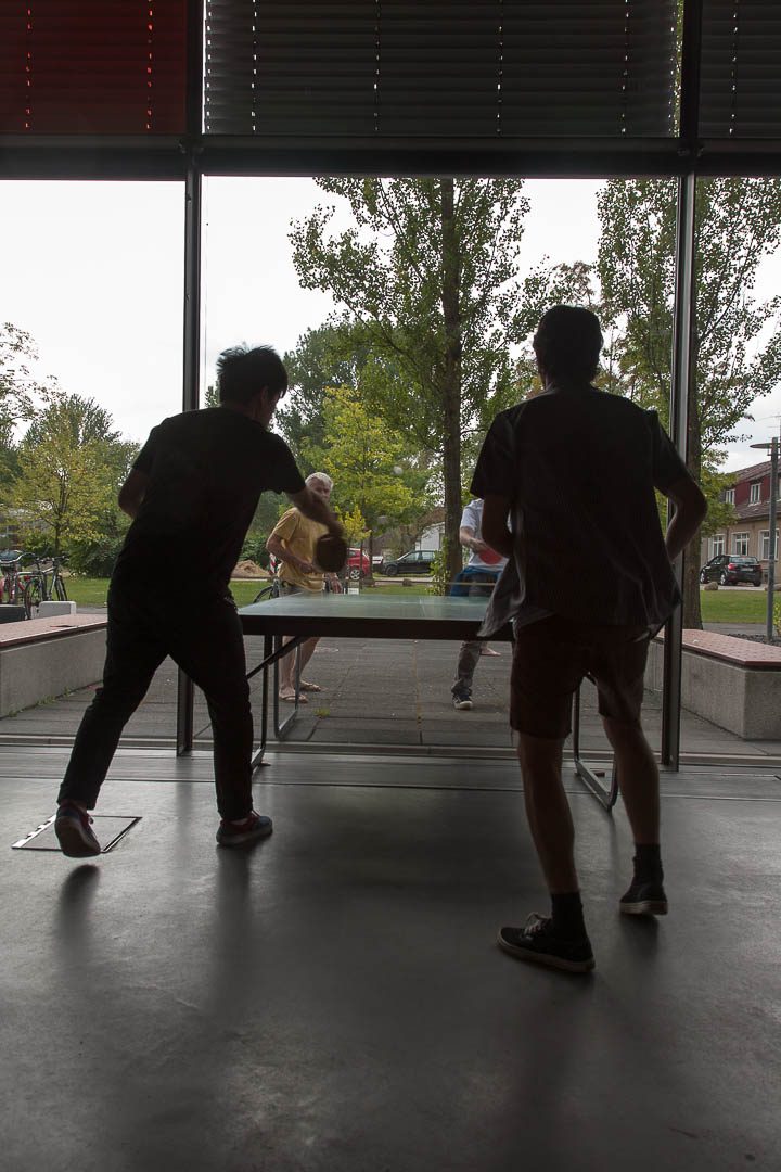 Ping-Pong – East meet West, how do we communicate, 2012, Wismar (D)