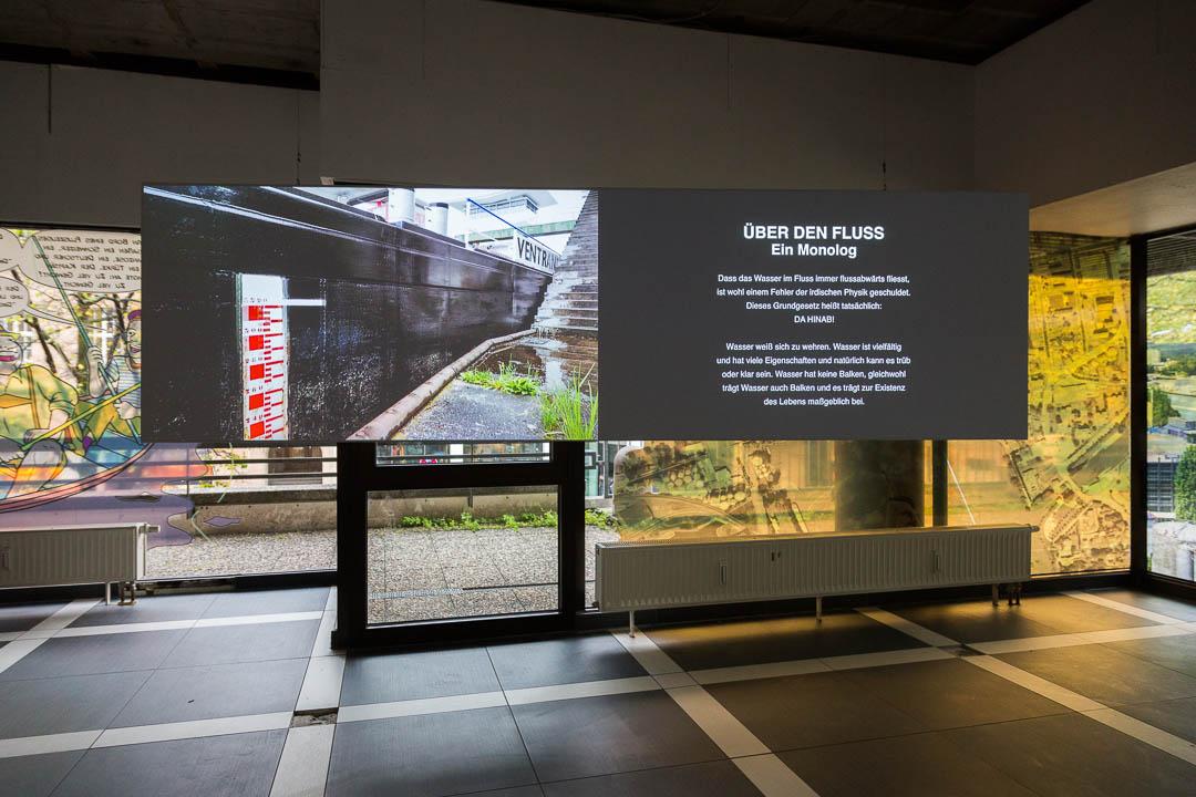Über den Fluss [Rheingold], 2018, LAF Projektraum, Pforzheim (D)